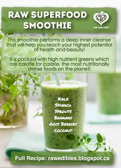 Raw Superfood Smoothie