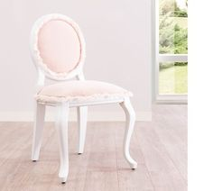 Shop for Cilek Romantic Blush Upholstered Chair. Get free delivery On EVERYTHING* Overstock - Your Online Furniture Outlet Store! Modern Kids Chairs, Personalized Kids Chair, Wrought Iron Patio Chairs, Chair Types, Upholstered Chairs, Shabby Chic Furniture, Club Chairs, Bars For Home, Kids Furniture