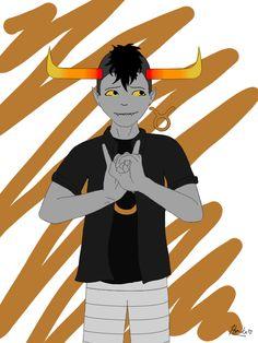 Tavros Nitram, Taurus by Himika1222.deviantart.com on @DeviantArt