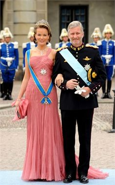 Resultado de imagen para King philip and queen mathilde at wedding