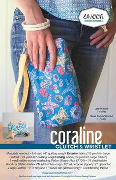 Coraline Clutch & Wristlet