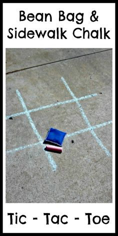 Simple gross motor games - Tic Tac Toe fun for all ages!