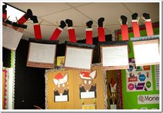 """If Santa got stuck in my chimney, I would . . . "" (cute writing activity)"