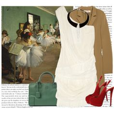 Classic Fashion inspired by Degas. Find fashion inspiration through the Masters.  #tjmaxx #maxxexpression