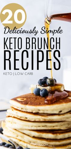 Gathered here are keto brunch recipes for your healthy brunch party. You don't have to give up brunch for you keto or low carb diet. Clean Eating Recipes For Weight Loss, Clean Eating For Beginners, Healthy Eating Habits, Clean Recipes, Low Carb Recipes, Healthy Recipes, Keto Diet Breakfast, Breakfast Muffins, Brunch Recipes