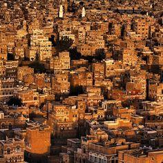 صنعاء القديمة, اليمنOld Sanaa, YemenBy @aboody4e