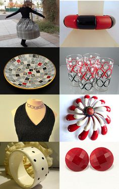 """Black, White and """"RED"""" All Over.....--Pinned with TreasuryPin.com"""