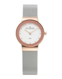 Stainless Steel Mesh Bracelet With Gold Watch | Hudson's Bay $140
