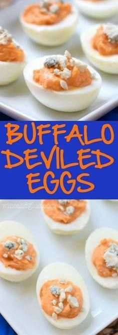 These Buffalo Devile These Buffalo Deviled Eggs are the real...  These Buffalo Devile These Buffalo Deviled Eggs are the real deal! They are crazy good and simple to make! Try not to eat the whole batch yourself! Recipe : http://ift.tt/1hGiZgA And @ItsNutella  http://ift.tt/2v8iUYW