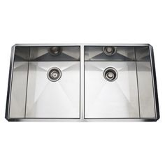 Make the kitchen sink an integral part of your kitchen design with our selection of quality designer sinks in double-sink, apron, and undercounter styles.  #homeimprovement #sinks  #home #homeinspo #homeinspiration #dreamhome #house #classichome #finedecor #classichouse