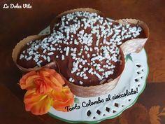 #Torta #colomba al#cioccolato! Pudding, Baking, Cake, Desserts, Food, Bread Making, Pie Cake, Tailgate Desserts, Pie