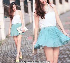 2013 Yaz: Mini Etek Modelleri/Kombinleri « Wenge Moda