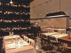 Primo al pigneto Restaurante linha slow food com clima cool da vizinhança .