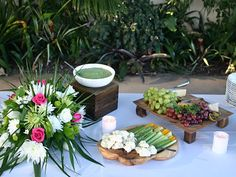 Eco Caters - yum! Organic, seasonal, fresh food for our guests. And their staff is lovely to work with.