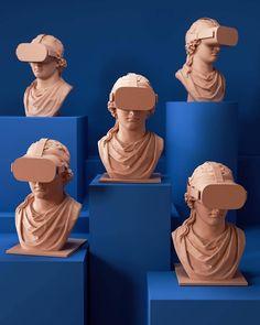 Various Illustrations — Ben Fearnley Studio / Art & Design Sculpture Art, Sculptures, 3d Cinema, Cinema 4d Render, 3d Studio, Futuristic Art, Fine Art, Art Studios, Installation Art
