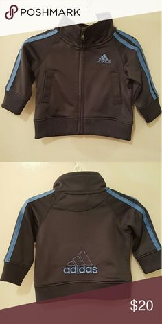 Adidas jacket JUST REDUCED! Final Reduction! Used but like new. 3months. Grey & blue. Adidas Jackets & Coats