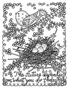 Be Brave Adult Coloring Book to Relieve Stress and Create Self Worth: Deborah Muller, Chubby Mermaid: 0635292811944: Amazon.com: Books
