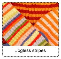 TECHknitting: Jogless stripes--a new way