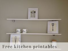 Free Kitchen Printable | Every Home is a Castle