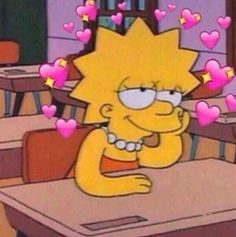 Me when I think about how beautiful and amazing you are when I'm supposed to be paying attention in class