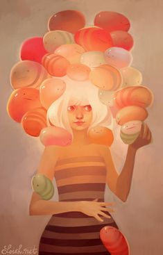 Art by Lois Van Baarle a.k.a. Loish Blog/Website | (http://loish.net/) ★ || CHARACTER DESIGN REFERENCES |