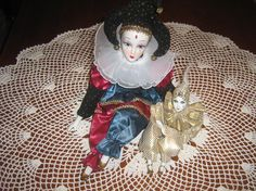 Vintage Porcelain Jester Clown and Turbaned by SweetDreamsandRoses on Etsy