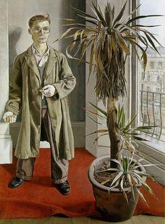 Interior in Paddington, 1951, oil on canvas,-  Walker Art Gallery, Liverpool  Lucien Freud
