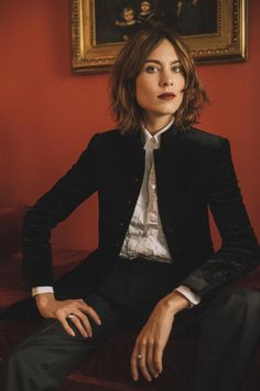 I really like how Alexa Chung is perceived in this image. It shows feminity in such a masculine way and is perfect for what I want to achieve within my editorial about feminism.
