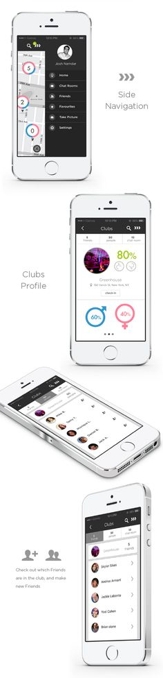 Club-in - Club Spotting App