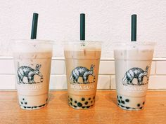 Iced Muscat Oolong Tea and Hong Kong Style Milk Tea by Boba Guys in SF!