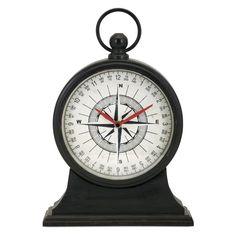 IMAX Maritime Tabletop Clock - 18328