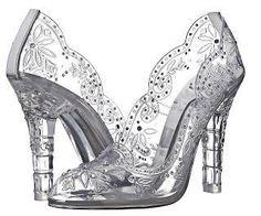 shoe-of-the-day-dolce-gabbana-transparent-pum-L-hp7dgO  #Cinderella Shoes, #shoeporn #heels