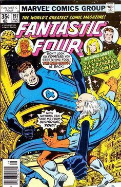 Fantastic Four # 197 by George Perez & Joe Sinnott