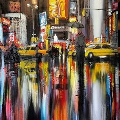 """New York, waiting for the taxi"" by Paul Kenton"