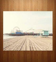 Santa Monica Beach Photo Art