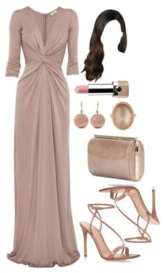 A fashion look from May 2016 featuring plunging-neckline dresses, high heel stilettos and glitter clutches. Classy Outfits, Chic Outfits, Vestidos Plus Size, Event Dresses, Red Carpet Dresses, Elegant Outfit, Dress To Impress, Beautiful Dresses, Ideias Fashion