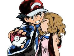 Beautiful ♡ Amourshipping ^.^ ♡ I give good credit to whoever made this  #Amourshipping ^.^ ♡ #AmourshippingDay ^.^ ♡ #AmourshippingWeek ^.^ ♡ #Day5OfAmourshippingWeek ^.^ ♡ #Day5