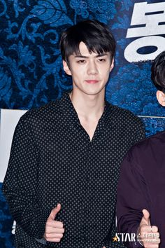 Sehun - 160704 'Seondal: The Man Who Sells The River' VIP première Credit: Star Journal. ('봉이 김선달' VIP 시사회)