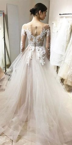 Top 33 Designer Wedding Dresses 2018 ❤ See more: http://www.weddingforward.com/wedding-dresses-2018/ #weddings