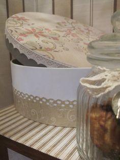 El desván de Silvia: Caja redonda para Carmen.