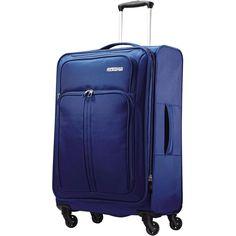 """American Tourister - Splash Spin LTE 24"""" Spinner - Blue, 74456-1090"""