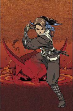 Shadowcat, Demon Samurai