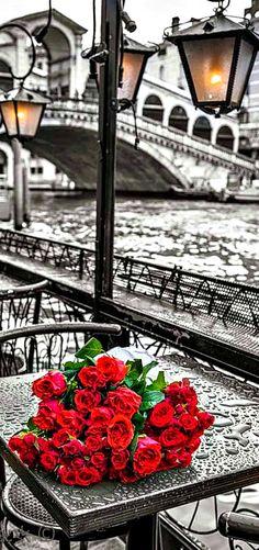 Rendezvous- romantic Venice by Assaf Frank- LadyLuxury