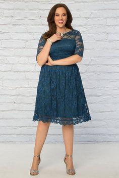 cc4f9e78c92c1 Luna Lace Dress. Our best-selling plus size ...