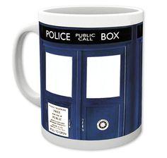 Doctor Who Tasse Tardis. Hier bei www.closeup.de