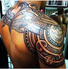 By Triggz #maoritattoosdesigns #maoritattoosshoulder
