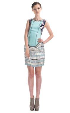 Shop Matthew Williamson Ready-to-Wear Runway Fashion at Moda Operandi    These textures!! I'm gonna die 9-9