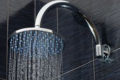 As simple as it sounds, updating your shower head can turn your simple bathroom into a spa-like experience.
