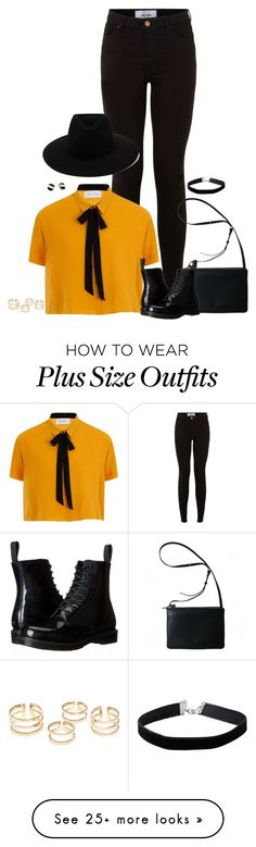 """I'd wear this to NY or something :3"" by wafflez-cry-syrup on Polyvore featuring New Look, Elvi, Dr. Martens, rag & bone, Miss Selfridge and Kate Spade"