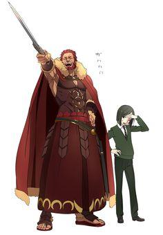 Fate/zero, Rider (Fate/zero), Waver Velvet
